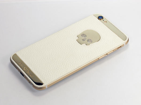 iPhone Diamond skull