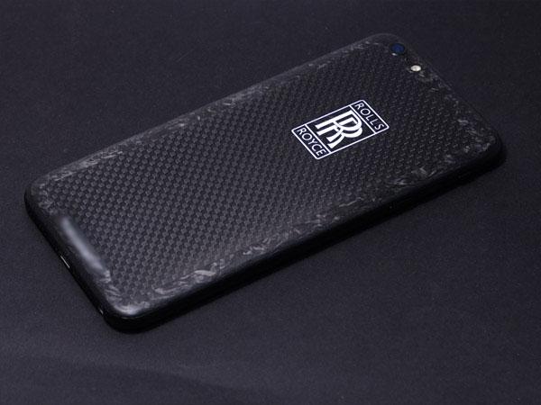 iPhone Rolls-Royce carbon