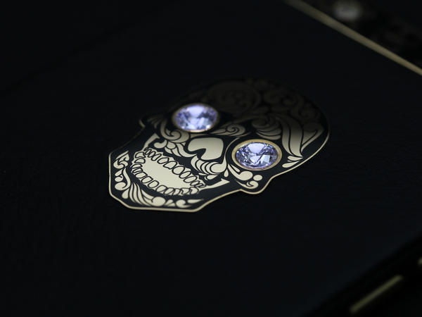 iPhone 6 Gold skull, Individual