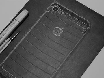 Разработка дизайна iPhone 7