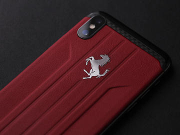 iPhone X Ferrari custom