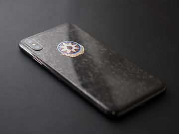 iPhone Xs Azerbaijan marble carbon